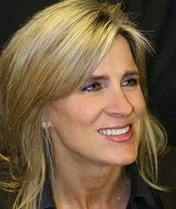 Linda, an actual patient of Brookside Dental