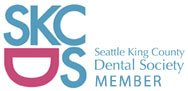 Seattle King County Dental Society Member Badge