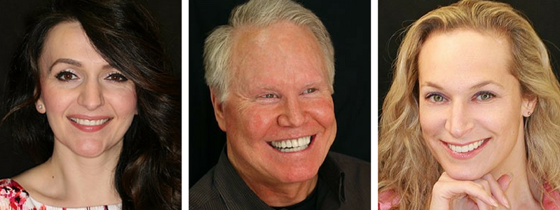 Photos of actual patients of Brookside Dental.