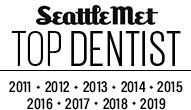 Seattle Met Top Dentist logo