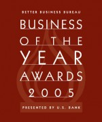 Better Business Bureau Award 2005