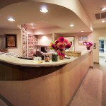 Bellevue Dentists Reception Desk at Brookside Dental